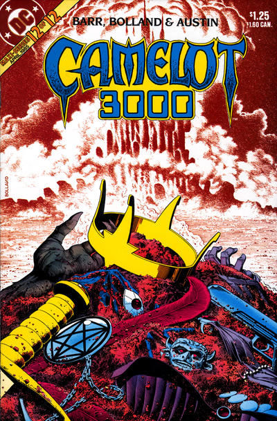 Cover for Camelot 3000 (DC, 1982 series) #12