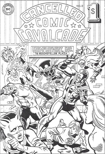 Cover for Cancelled Comic Cavalcade (DC, 1978 series) #2