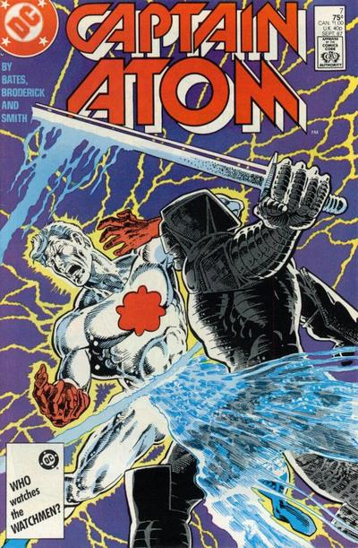 Cover for Captain Atom (DC, 1987 series) #7 [Direct Sales]