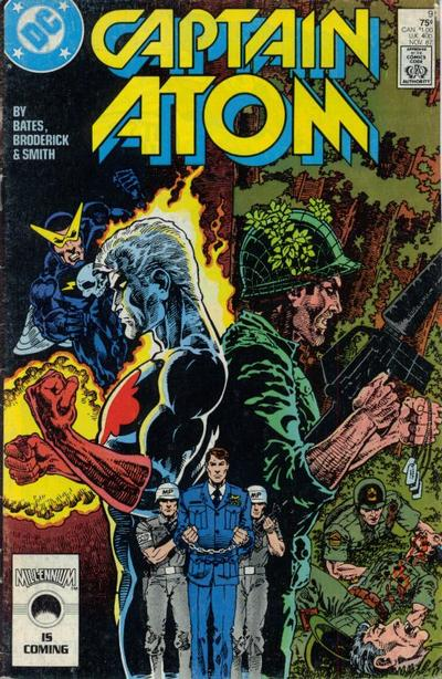 Cover for Captain Atom (DC, 1987 series) #9 [Direct Sales]