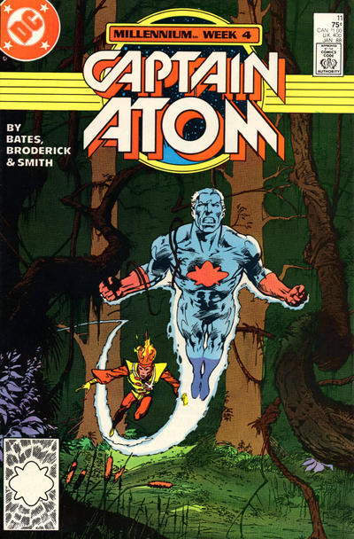 Cover for Captain Atom (DC, 1987 series) #11