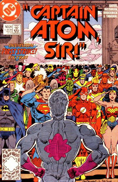 Cover for Captain Atom (DC, 1987 series) #24