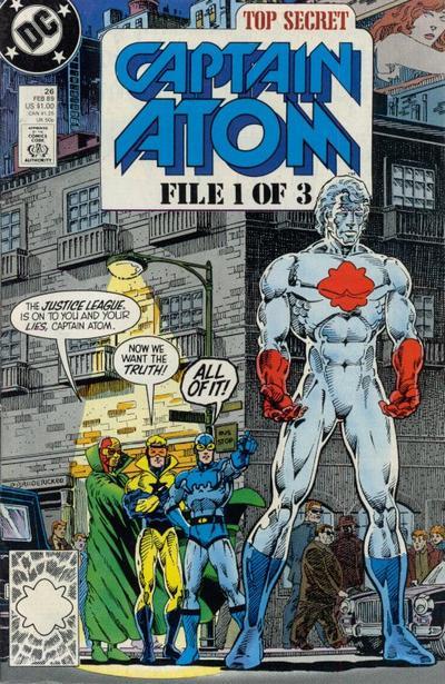 Cover for Captain Atom (DC, 1987 series) #26