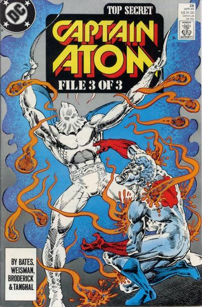 Cover for Captain Atom (DC, 1987 series) #28