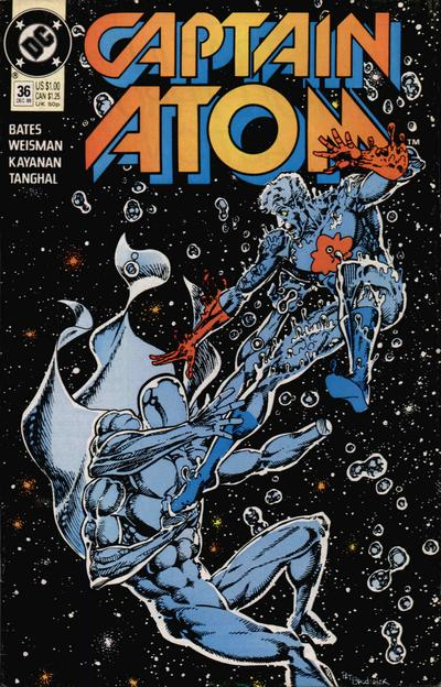 Cover for Captain Atom (DC, 1987 series) #36