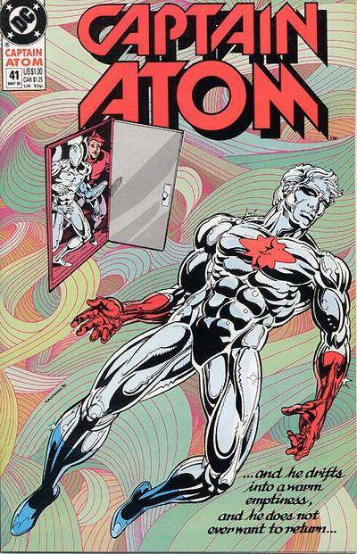 Cover for Captain Atom (DC, 1987 series) #41
