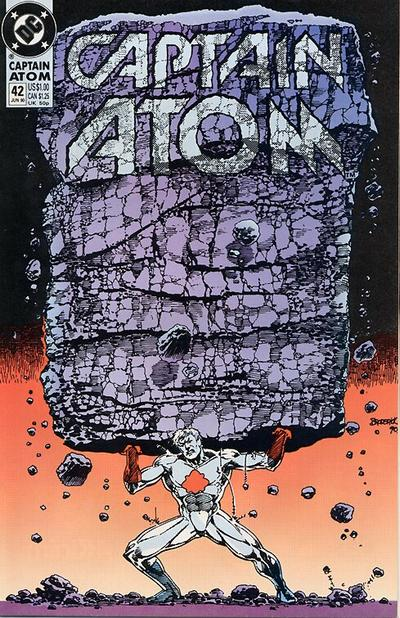 Cover for Captain Atom (DC, 1987 series) #42