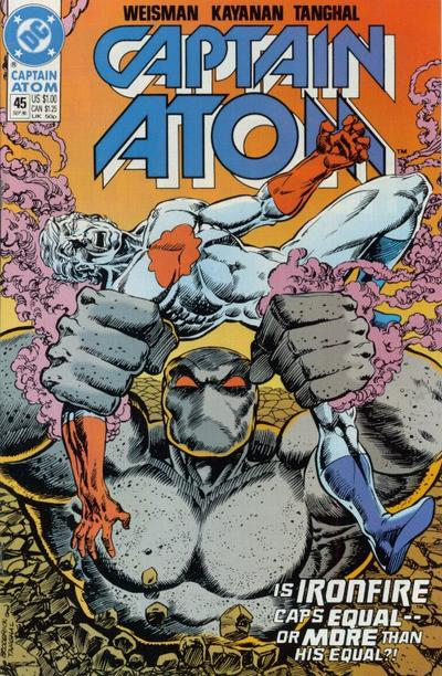 Cover for Captain Atom (DC, 1987 series) #45
