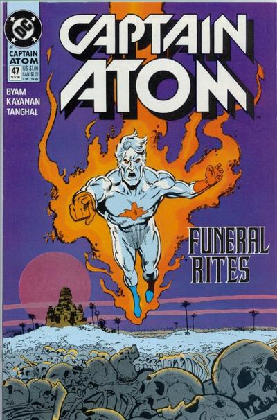 Cover for Captain Atom (DC, 1987 series) #47