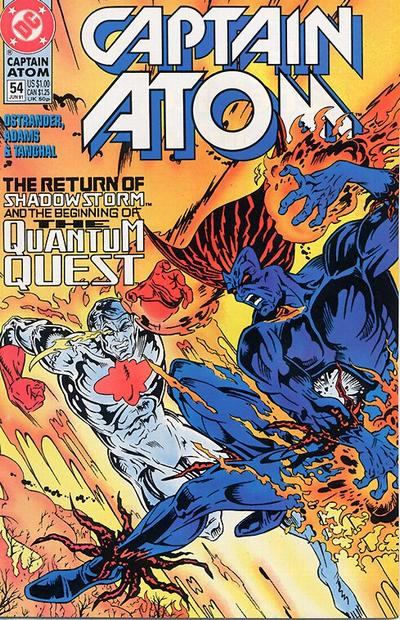 Cover for Captain Atom (DC, 1987 series) #54