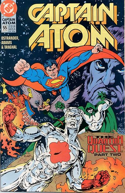 Cover for Captain Atom (DC, 1987 series) #55