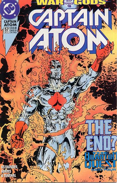 Cover for Captain Atom (DC, 1987 series) #57