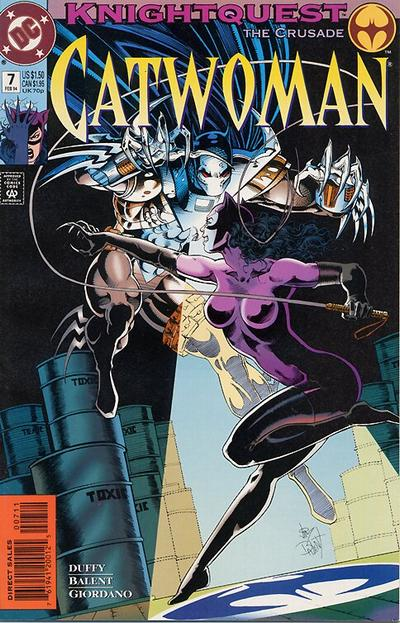 Cover for Catwoman (DC, 1993 series) #7 [Direct Edition]