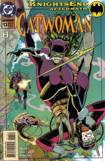 Cover for Catwoman (DC, 1993 series) #13 [Direct Edition]