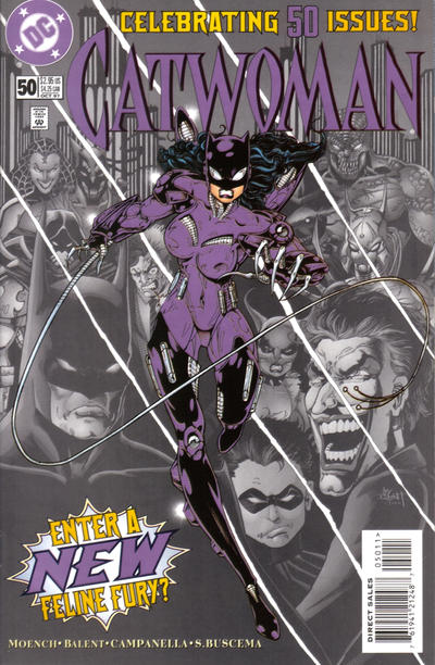 Cover for Catwoman (DC, 1993 series) #50 [Collector's Edition]
