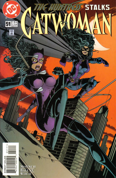 Cover for Catwoman (DC, 1993 series) #51