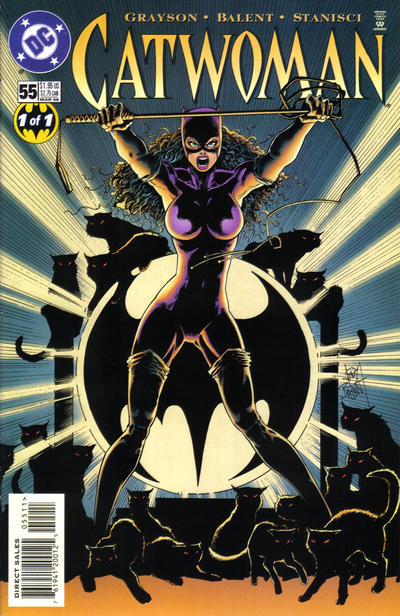 Cover for Catwoman (DC, 1993 series) #55