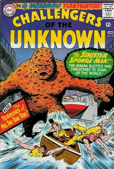 Cover for Challengers of the Unknown (DC, 1958 series) #47