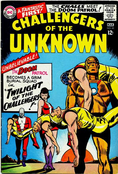 Cover for Challengers of the Unknown (DC, 1958 series) #48