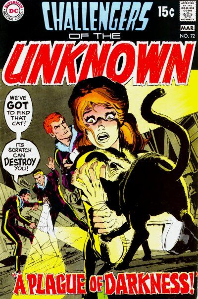 Cover for Challengers of the Unknown (DC, 1958 series) #72