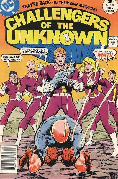Cover for Challengers of the Unknown (DC, 1958 series) #81