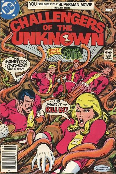 Cover for Challengers of the Unknown (DC, 1958 series) #82