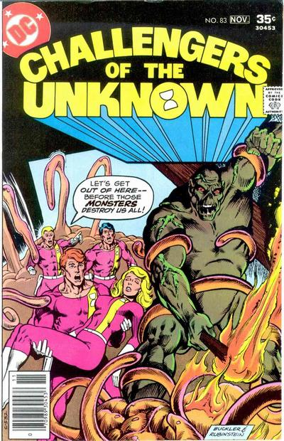 Cover for Challengers of the Unknown (DC, 1958 series) #83