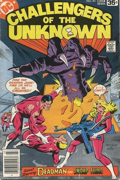 Cover for Challengers of the Unknown (DC, 1958 series) #85