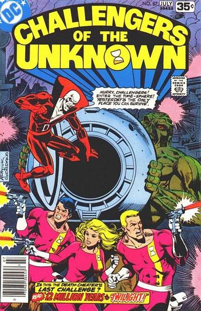 Cover for Challengers of the Unknown (DC, 1958 series) #87