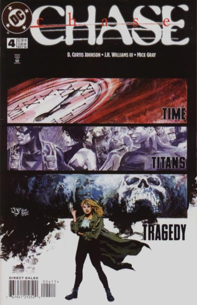 Cover for Chase (DC, 1998 series) #4