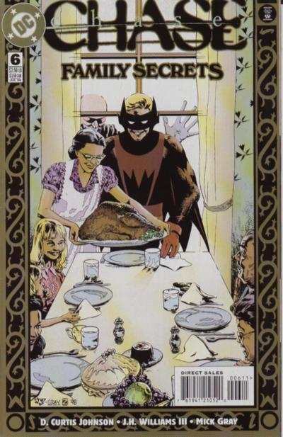 Cover for Chase (DC, 1998 series) #6