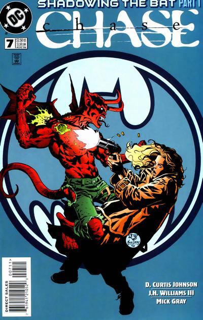 Cover for Chase (DC, 1998 series) #7