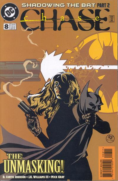 Cover for Chase (DC, 1998 series) #8