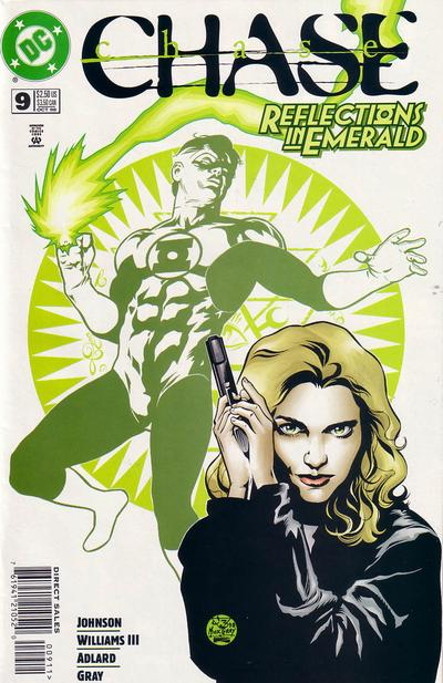 Cover for Chase (DC, 1998 series) #9