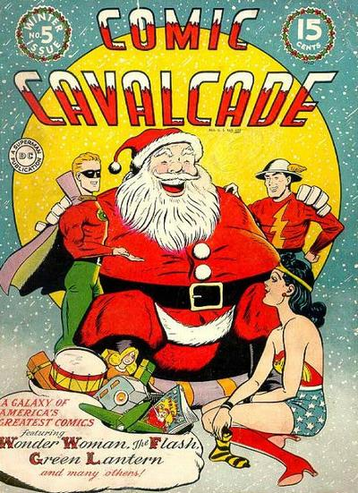 Cover for Comic Cavalcade (DC, 1942 series) #5