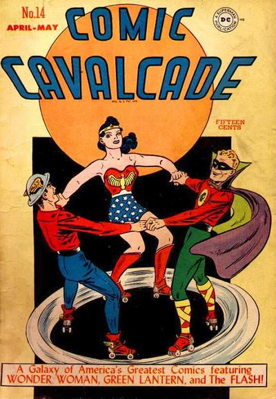 Cover for Comic Cavalcade (DC, 1942 series) #14
