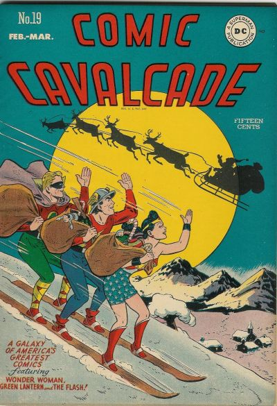 Cover for Comic Cavalcade (DC, 1942 series) #19