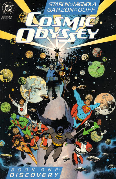 Cover for Cosmic Odyssey (DC, 1988 series) #1