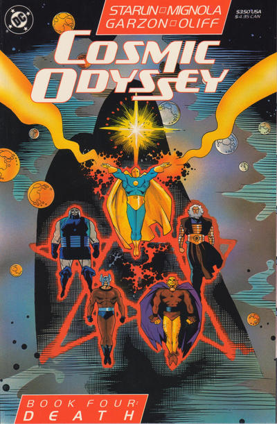 Cover for Cosmic Odyssey (DC, 1988 series) #4