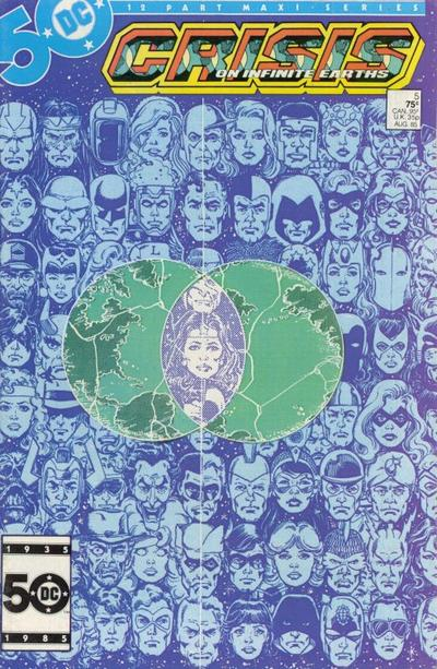 Cover for Crisis on Infinite Earths (DC, 1985 series) #5