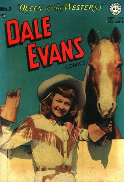 Cover for Dale Evans Comics (DC, 1948 series) #1