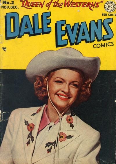 Cover for Dale Evans Comics (DC, 1948 series) #2