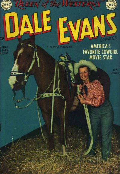Cover for Dale Evans Comics (DC, 1948 series) #5