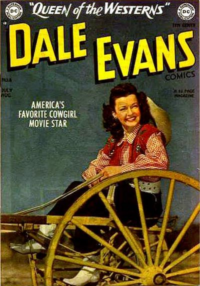 Cover for Dale Evans Comics (DC, 1948 series) #6