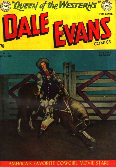 Cover for Dale Evans Comics (DC, 1948 series) #8