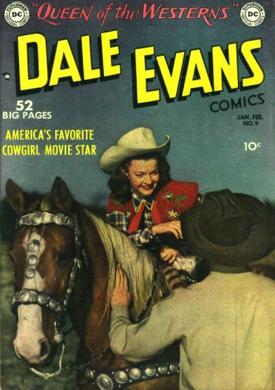 Cover for Dale Evans Comics (DC, 1948 series) #9