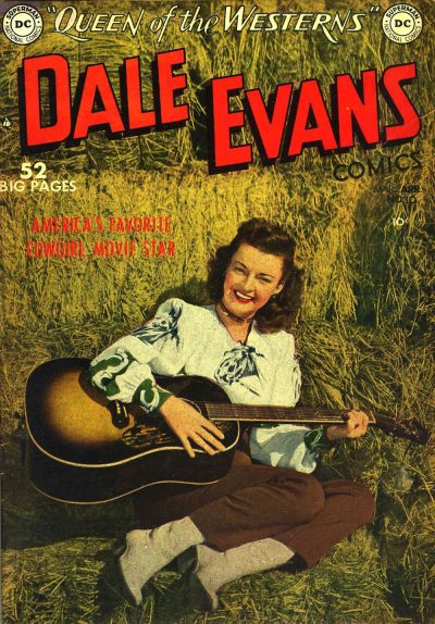Cover for Dale Evans Comics (DC, 1948 series) #10