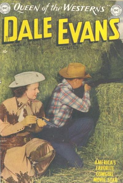 Cover for Dale Evans Comics (DC, 1948 series) #14