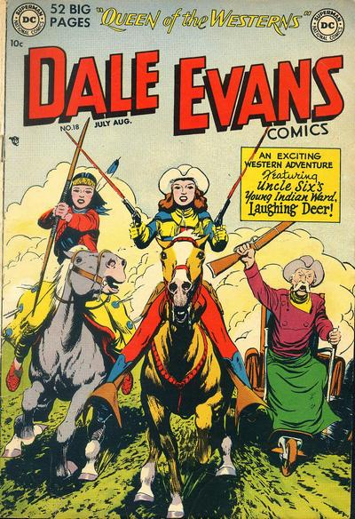 Cover for Dale Evans Comics (DC, 1948 series) #18