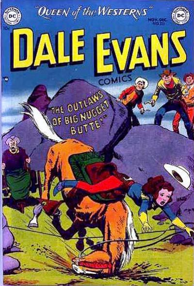 Cover for Dale Evans Comics (DC, 1948 series) #20